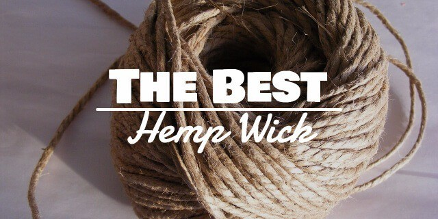 Best Natural Hemp Wick