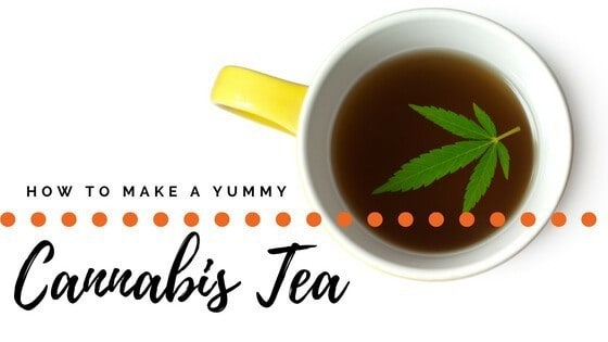 How to make weed tea