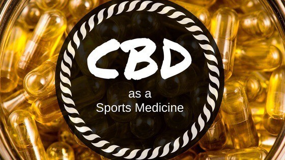 CBD as a Sports Medicine