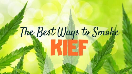 Best Way to Smoke Kief
