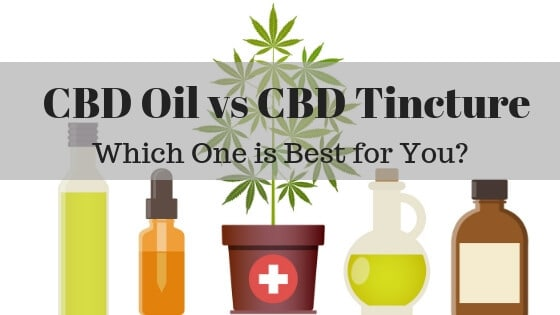 CBD Oil vs Tincture