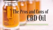 CBD Pros and Cons